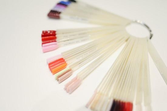 kolory lakierów gybrydowych